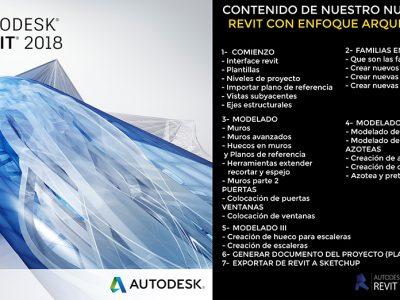 REVIT 2018: ENFOQUE ARQUITECTÓNICO