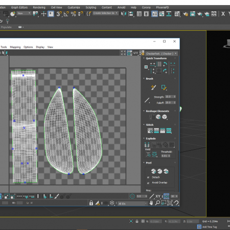 UVW Mapping en 3ds Max – UVW 0208