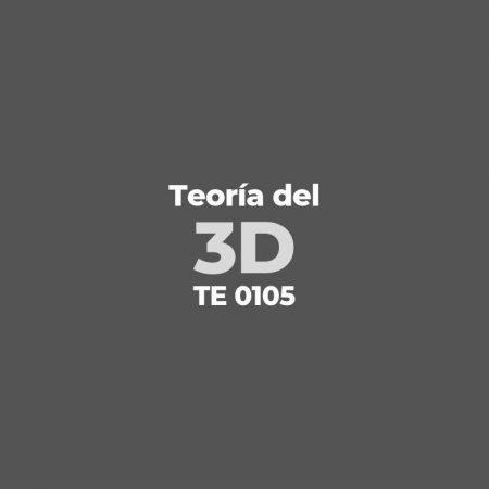 Teoría del 3D – TE 0105